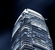 Tip of the IFC - Hong Kong by Andrew To