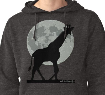 Under an African sky Pullover Hoodie