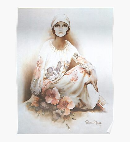 """Moshgan"" Oil on Canvas Poster"