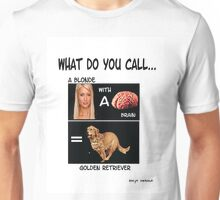 Blonde with a Brain? Unisex T-Shirt