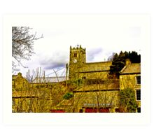 Muker Church Art Print