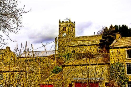Muker Church by Trevor Kersley