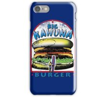 Classic Big Kahuna Burger iPhone Case/Skin