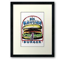 Classic Big Kahuna Burger Framed Print