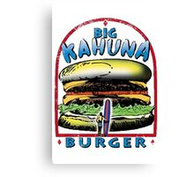 Classic Big Kahuna Burger Canvas Print