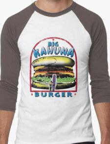 Classic Big Kahuna Burger Men's Baseball ¾ T-Shirt
