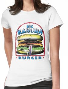Classic Big Kahuna Burger Womens Fitted T-Shirt