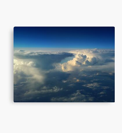 Fairytale Skies Twelve Canvas Print