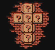 Mario Flat Pack Question Mark Cube T-Shirt