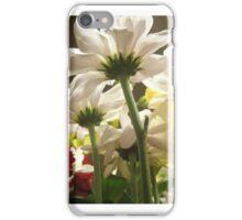 White flowers beautiful nature iPhone Case/Skin