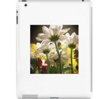 White flowers beautiful nature iPad Case/Skin