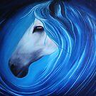 Seahorse in Oils by Dawnsky2