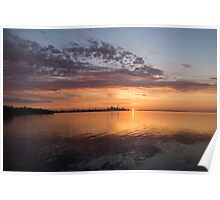 My World This Morning - Toronto Skyline at Sunrise Poster