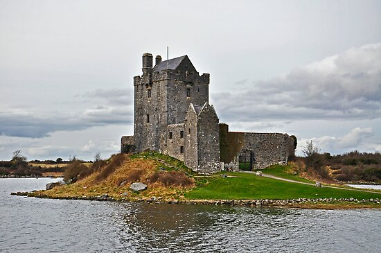 Dunguaire Castle, Kinvara, Co. Galway . by Martina Fagan