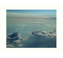 Fairytale Skies Nineteen Art Print