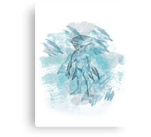 Zora - splash Canvas Print