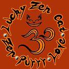 Lucky in Orange by luckyzencat