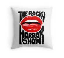 The rocky horror show Throw Pillow
