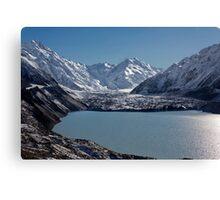 Tasman Lake and Glacier Canvas Print