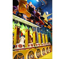 Water Gun Game - Nassau Coliseum Fair Photographic Print