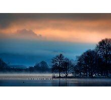 The 'Quack' of dawn... Lake of Mentieth Photographic Print