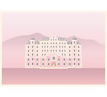 The Grand Budapest Hotel Poster Print Photographic Print