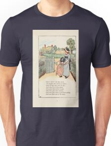 Mother Goose or the Old Nursery Rhymes by Kate Greenaway 1881 0013 Hark Dogs bark Unisex T-Shirt