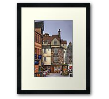 John Knox's House Framed Print