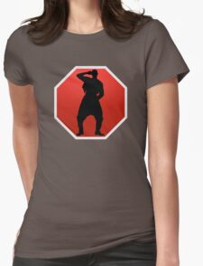 Stop! Hammer Time! Womens Fitted T-Shirt