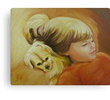 Comfy Pillow Canvas Print