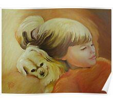 Comfy Pillow Poster