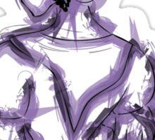 Fallera - purple Sticker