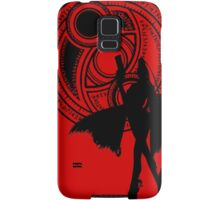 Umbra Witch Seal Bayonetta Silhouette Samsung Galaxy Case/Skin