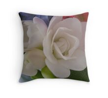 The Perfume of Freesia on Spring winds Throw Pillow