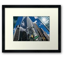 Oh So New York Framed Print