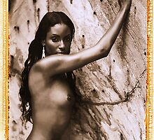"""Vanessa - Nude, Virgin Islands"" by Brad Starks"