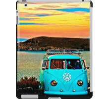 Iconic VW & Sunset. iPad Case/Skin