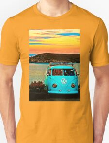 Iconic VW & Sunset. Unisex T-Shirt