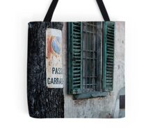 Window and Tree Tote Bag
