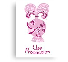 Use Protection Canvas Print