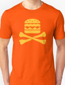 Hamburger skull Unisex T-Shirt