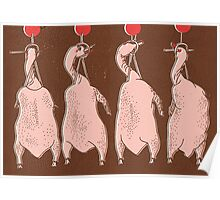 Delicious Roasted Peking Duck Poster