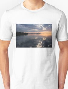 Early Morning Reflections - Lake Ontario and Downtown Toronto Skyline  T-Shirt