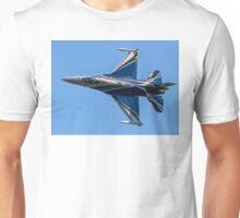 Belgian F-16AM 2012 demonstrator FA-84 rolling Unisex T-Shirt