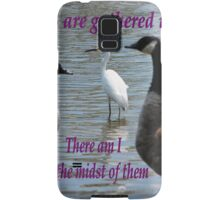 Matthew 18:20 Samsung Galaxy Case/Skin