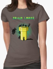 Lords Of The Drain  Womens Fitted T-Shirt