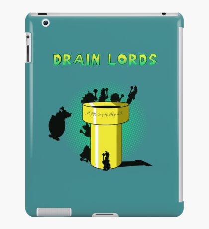 Lords Of The Drain  iPad Case/Skin