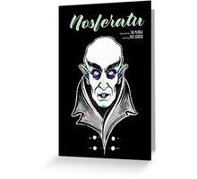 Nosferatu the Vampire Greeting Card
