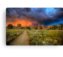 Trail to Hell Canvas Print