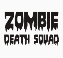 ZOMBIE DEATH SQUAD by Zombie Ghetto Kids Clothes